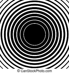 Radial concentric circle ripple background