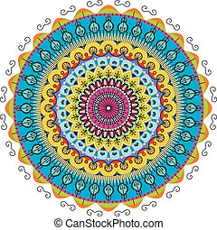 radial graphic patterns