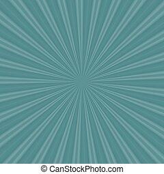 Radial rays