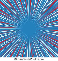 Radial speed on, bubble comic speech, vector format
