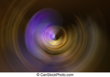 radial spin motion blur - Abstract background of colorful ...
