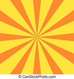 Radial sunray vector background