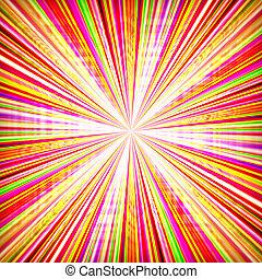 radial, zumbido, explosión