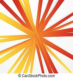 radiando, abstratos, irregular, linhas, radial, fundo, grungy