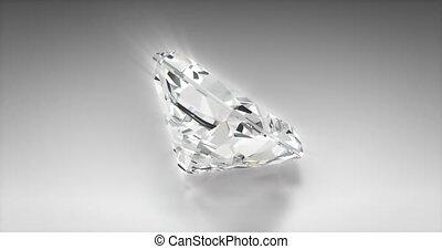 radiant, coupure, diamant