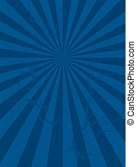 Abstract mottled blue background with a radiating design
