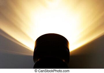 radiated, אור