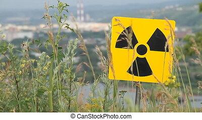 radiation 11 - Nuclear radiation or radioactivity warning...