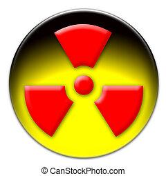 Radiation icon button