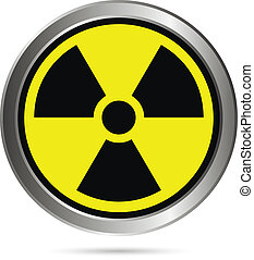 Radiation round button