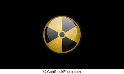 Radiation Sign Rotates Effect Glitch
