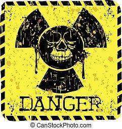 radiation skull danger