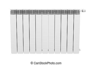 Radiator - Front view of heating radiator