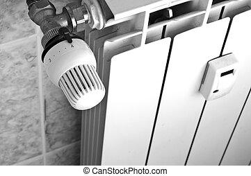 Radiator - Close-up to an home radiator