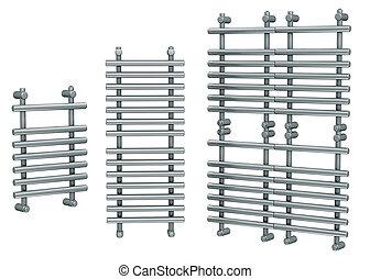 Radiators steel bathroom