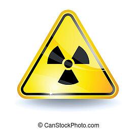 radiazione, segno