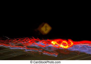 Radical Light Streak Blur - In Camera Radical Blurred Light...