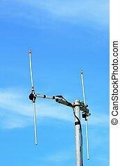 radio aerial - H shaped radio aerial