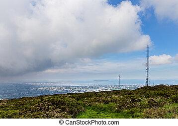 Radio Antenna at Dublin Mountains at Three Rock