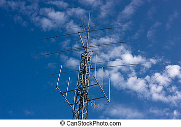radio antenna - radio amateur antenna for medium and short...
