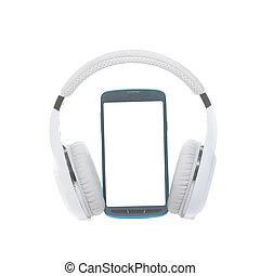 radio, cellphone, kopfhörer