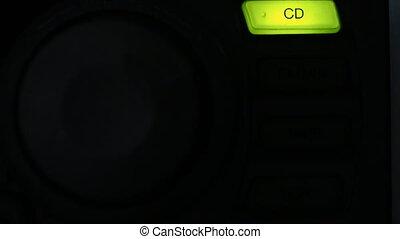 radio, characters:, commutation, disque, amplifier., lumineux, cassette