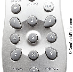 Radio control - Remote control that is used for a home radio