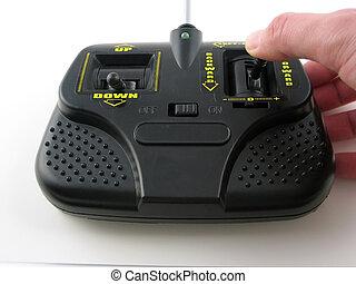 Radio control - Transmitter for radio control purposes