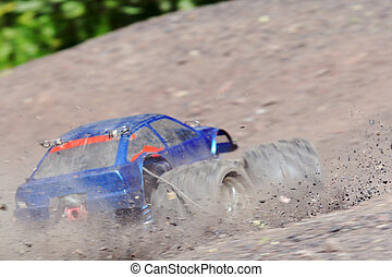 Radio controlled toy - A very fast radio controlled toy car