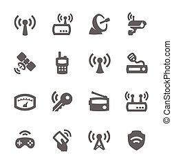 radio, ikony