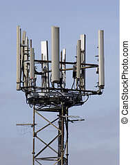 Radio mast - A radio mast for cell phones