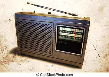 Radio - Old retro radio