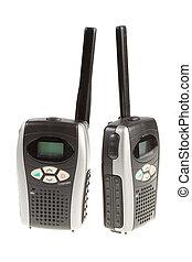 radio portabile, station.