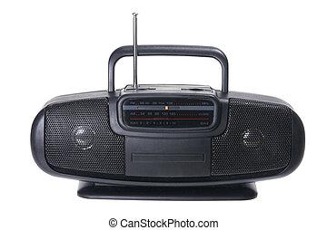 radio, portable
