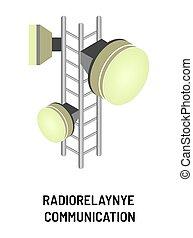 radio-relay, επικοινωνία , σύνθημα , αντικείμενο , πομπός ,...