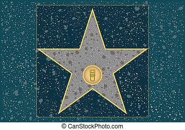 Radio star - Hollywood walk of fame: broadcast radio star