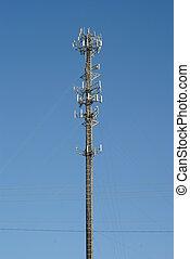 Radio Station Antenna - Antenna for a radio station.