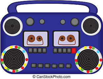 Radio tape recorder