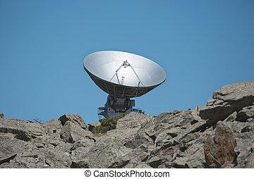 radio telescope  dish astronomy