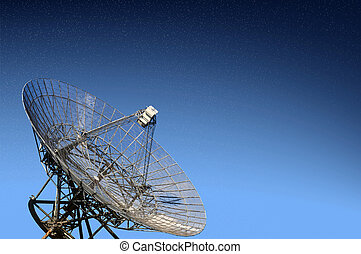 Radio telescope observatory - A radio telescope observatory...