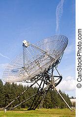 Radio Telescope - The imposing radio telescopes, keeping...