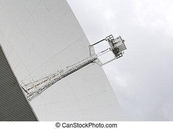 Radio telescope antenna