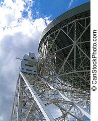 Radio Telescope - The Lovell Radio Telescope at Jodrell...