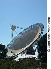 radio telescope - the huge satellite dish that is the...