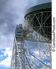 Radio Telescope - The Lovell Radio Telescopt at Jodrell...