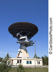 radio telescope - old Soviet military space spying radio...