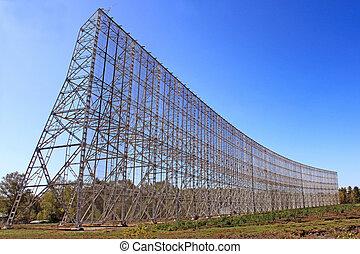 radio telescope - radar for the radio telescope for viewing...