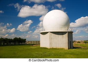 Radio Telescope - Radio telescope for astronomical studies.