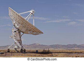 Radio Telescope - Radio telescope at the Very Large Array...