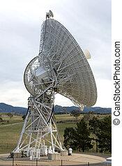 Radio Telescope at Tidbinbilla Space Tracking Centre,...